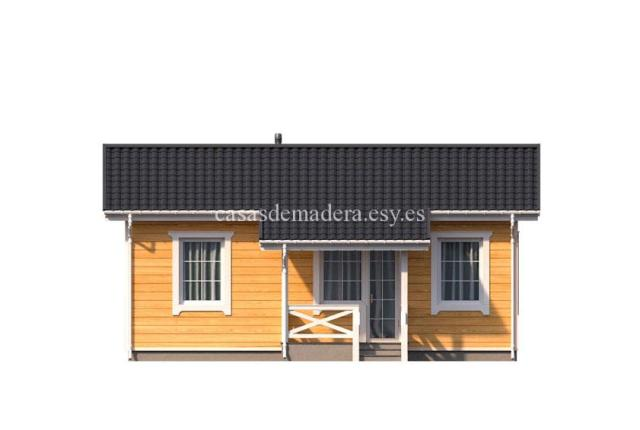 Casa de madera 003 4 - Casa de madera Modelo 003