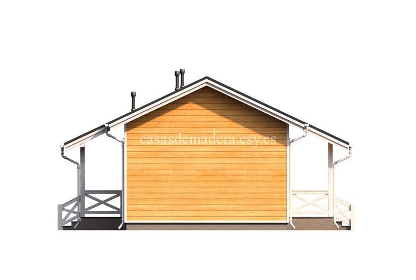 Casa de madera 003 5 - Casa de madera Modelo 003