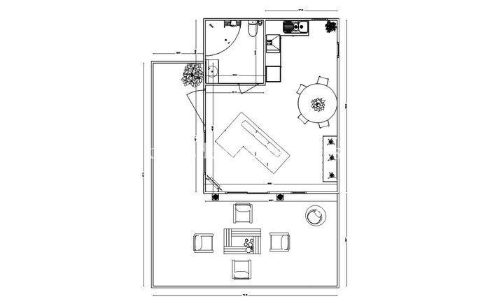 Casa prefabricada moderna 001 2 - Casa prefabricada moderna  M01