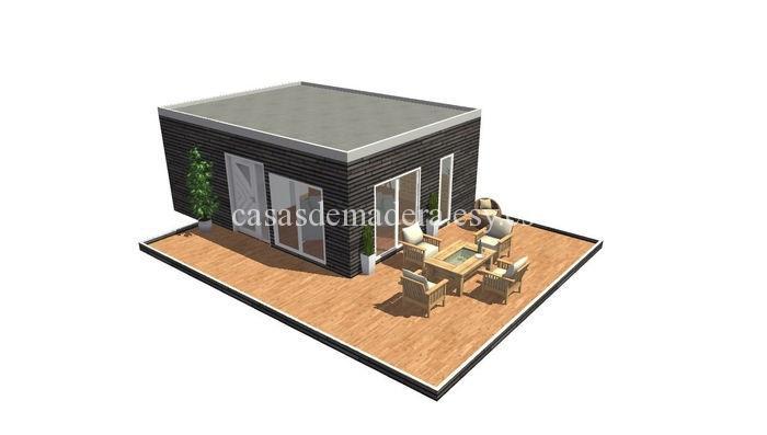 Casa prefabricada moderna 001 6 - Casa prefabricada moderna  M01