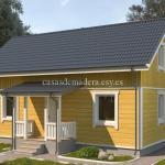 Casa de madera Modelo 001
