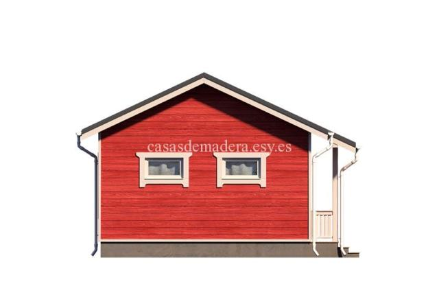 casa de maderas 002 2 - Casa de madera Modelo 002