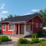 Casa de madera Modelo 002