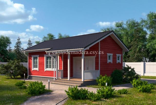 casa de maderas 002 3 - Casa de madera Modelo 002