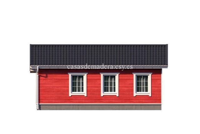 casa de maderas 002 7 - Casa de madera Modelo 002