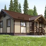 Casa de madera de lujo L02