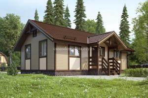 Casas prefabricada lujo L02