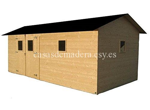 casa de madera - Casa modelo cadema 18 m2