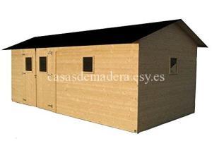 casa de madera 300x220 - Casa modelo cadema 18 m2