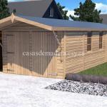 Casas de madera de la marca Noah 18m2