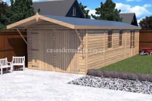 shed01 scene 01 717x478 300x200 - Casas de madera de la marca Noah 18m2