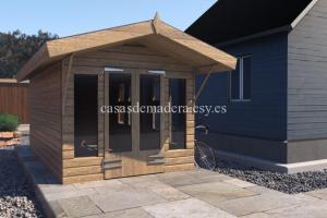 shed05 scene 02 717x478 1 300x200 - Casa de madera modelo noah de 22m2