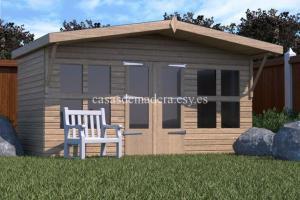 shed07 scene 02 717x478 1 300x200 - Casas de madera de la marca Noah 24m2