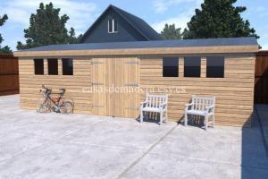 shed14 scene 02 717x478 1 300x200 - Casa de madera modelo Noah 60m2