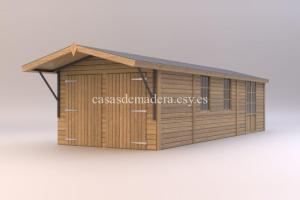 studio renders shed01 717x478 300x200 - Casas de madera de la marca Noah 18m2