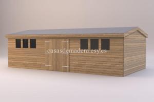 studio renders shed14 717x478 300x200 - Casa de madera modelo Noah 60m2