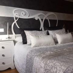 Dormitorio matrimonio clásico ya amueblado