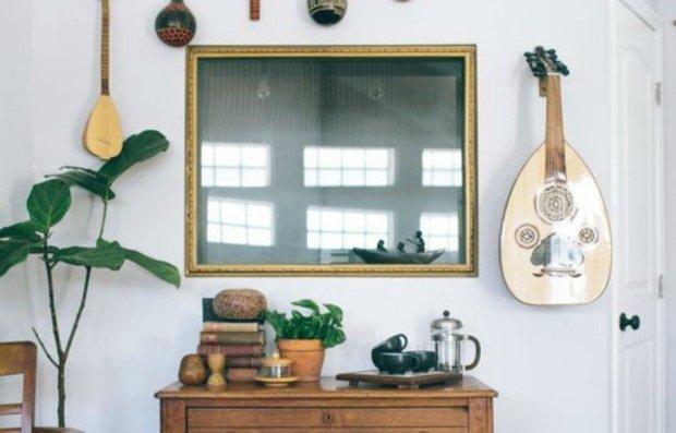 Τα όργανα μουσικής είναι προτιμότερο να μην μπαίνουν στους τοίχους σας.