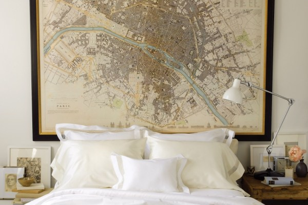 large-framed-map-for-bedroom-wall-decor