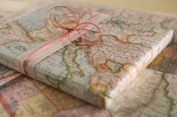 wrapped-in-old-maps-creative-Christmas-gift-wrapping-ideas-e1355477985380