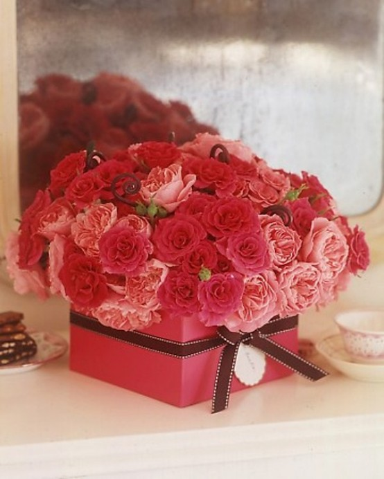 Flower-Decoration-Ideas-For-Valentine's-Day