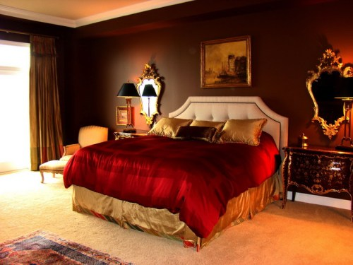 New-Red-Bedroom-Ideas-Free-Wallpaper-Red-Bedroom-Decor-And-Bedroom-Wall-Mirrors-Wall-Color-Curtain-Carpet-Wall-Table-Models-2016