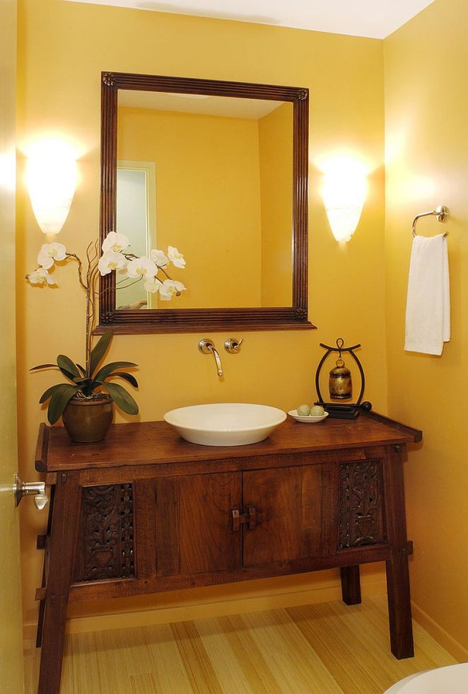 Fabulous-cutom-crafted-vanity-for-the-warm-tropical-powder-room