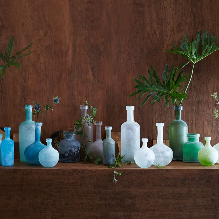 Sea-glass-style-vases-from-West-Elm