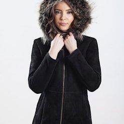 Jacheta din blana naturala de ovine - A 70