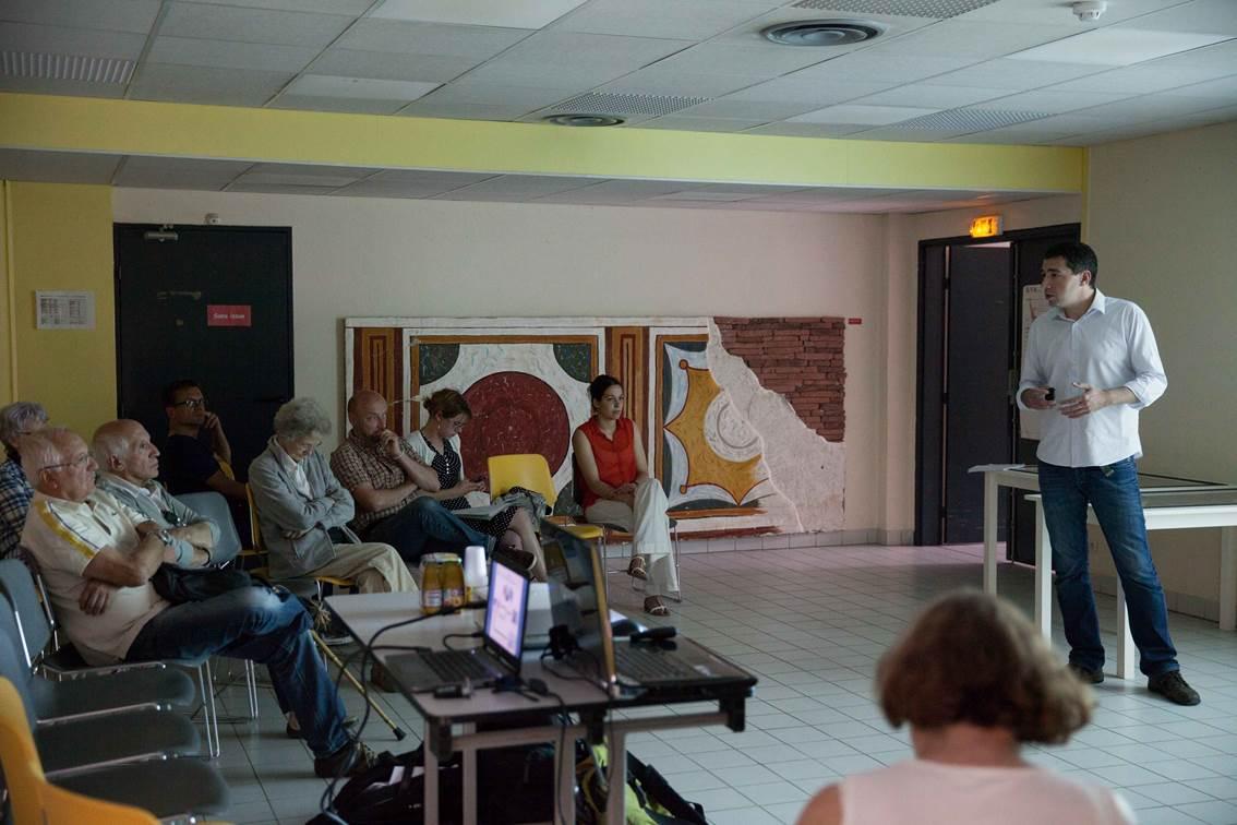 Présentation de notre activité au grand public, en partenariat avec le CRAVF et le Musée de Guiry