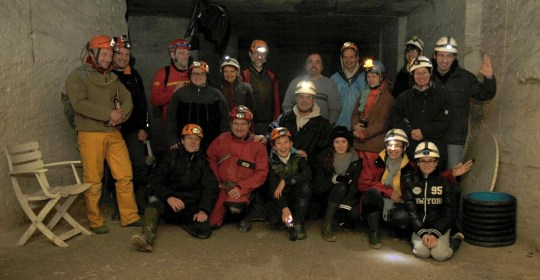 INITIATION A LA SPELEOLOGIE