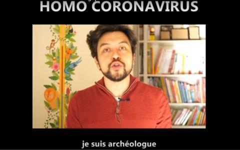 DÉCOUVERTE ARCHÉOLOGIQUE MAJEURE : L'HOMO CORONAVIRUS