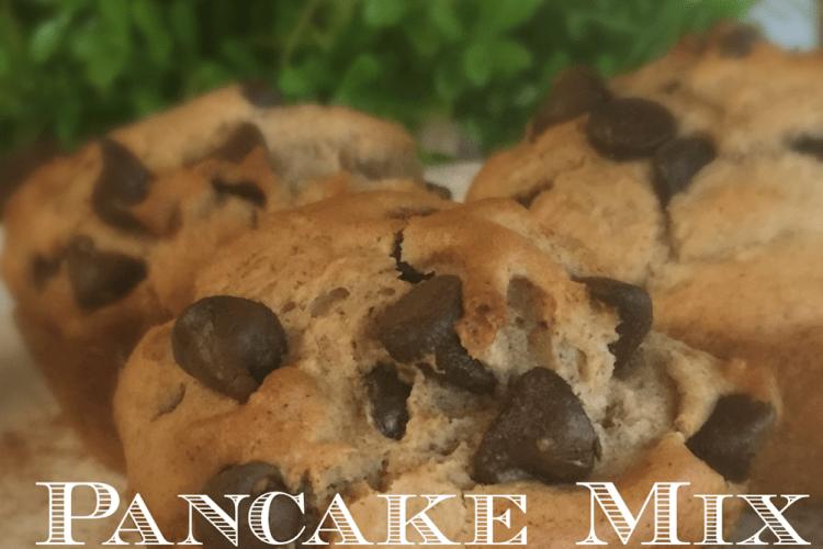 Pancake Mix Chocolate Chip Muffins