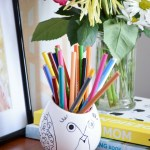 DIY-pencil-holder-from-planter