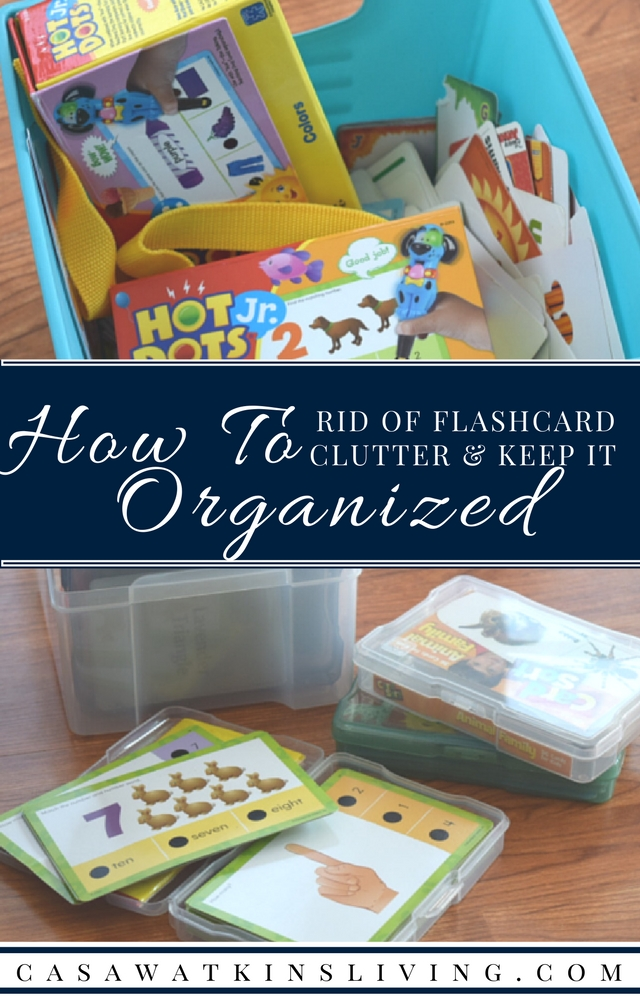 I'm definitely organizing my flashcards and notecards using this super easy organization method!