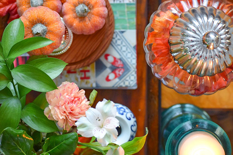 Simple Fall Decorating With What You Own!