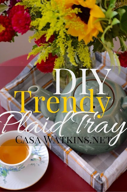fall, makeover, tray, diy, trend
