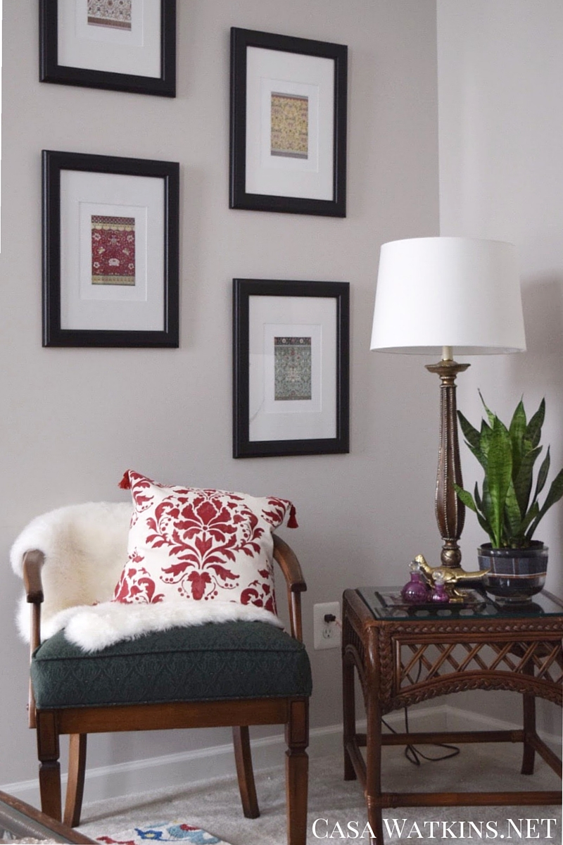 Global Eclectic Living Room Makeover Reveal
