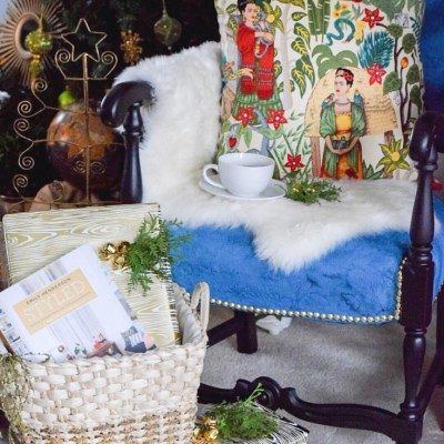 My Christmas Nook and Blogger Secret Santa