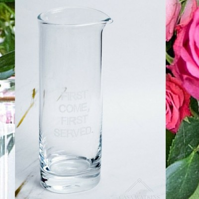 Knock It Off DIY: DIY Kate Spade Glass Pitcher Knock Off