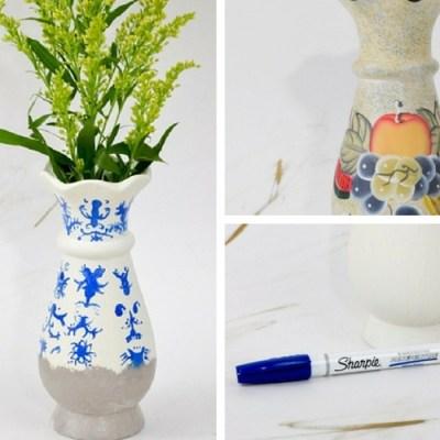 Pottery Barn Lilian Vase Inspired Bud Vases