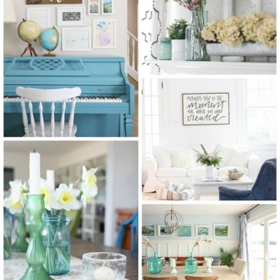 Hello Spring Home Tours and A $400 Paypal Giveaway