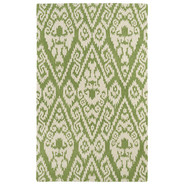 Evolution Green Area Rug