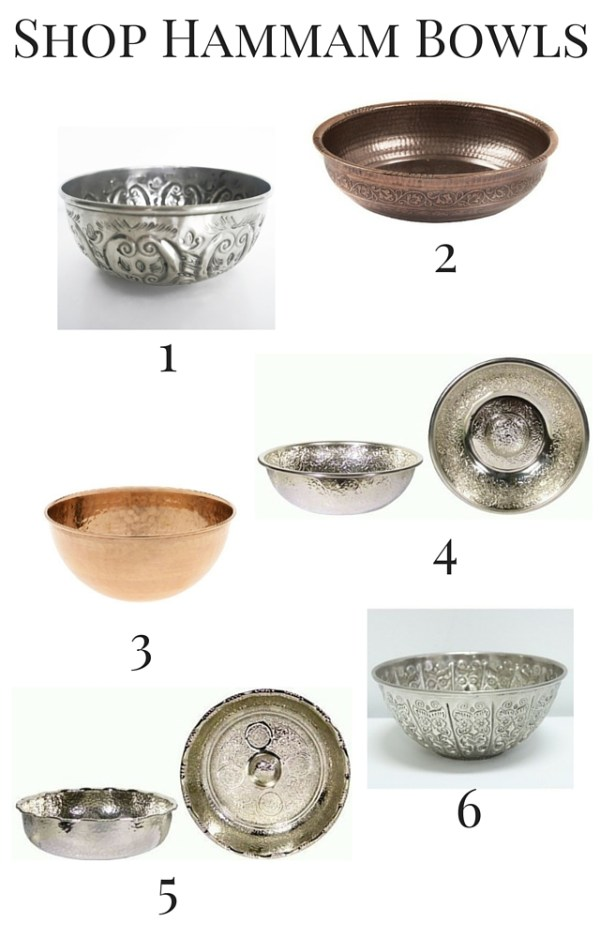 Shop hammam bowls and 5 ways to use them in decor