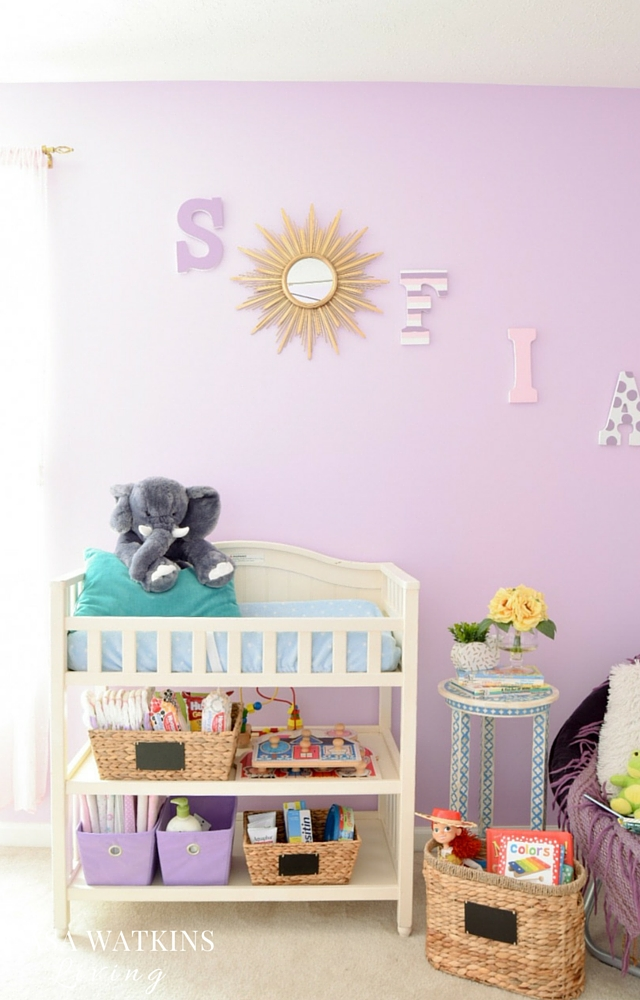 How to start transitioning kid's room from infant to toddler