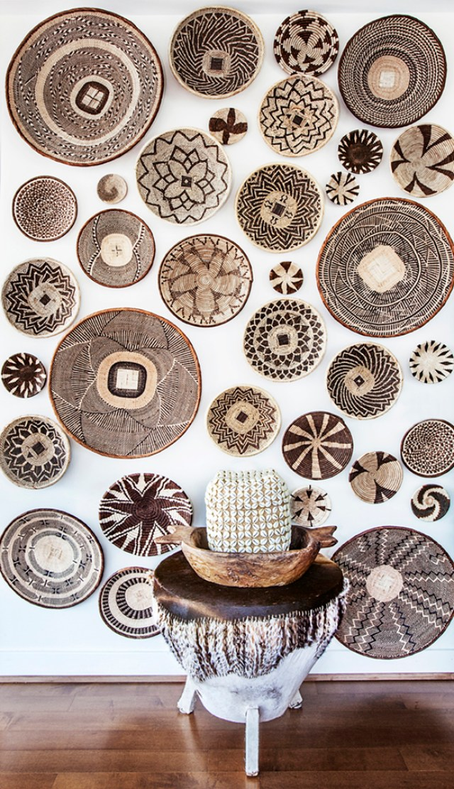 Global Basket wall decor