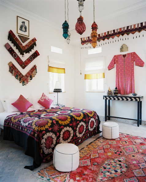 Use cultural and ethnic clothing for global wall art