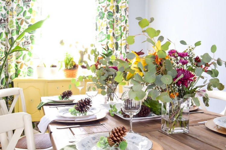 Early Winter Dining Room Tour