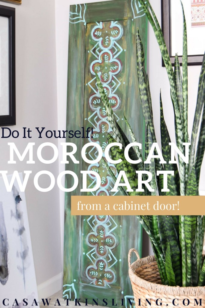 moroccan wood art perfect for global boho style spaces