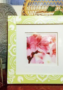 Indian inspired photo frame